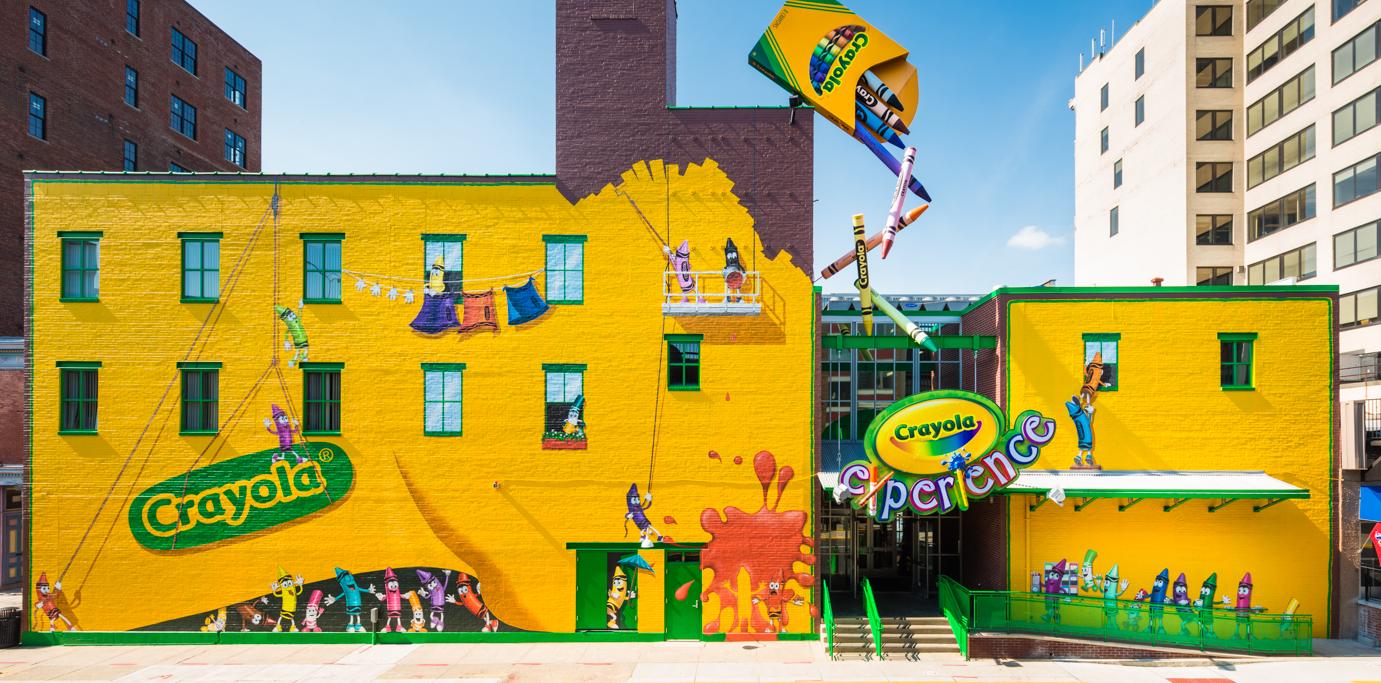 Crayola Factory Experience