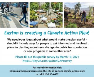 Easton climate action plan