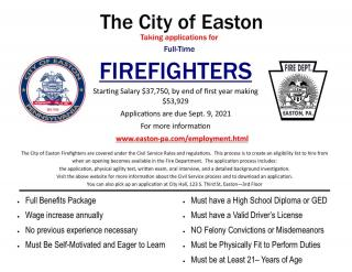firefighter applications