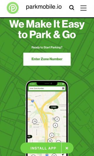ParkMobile web app