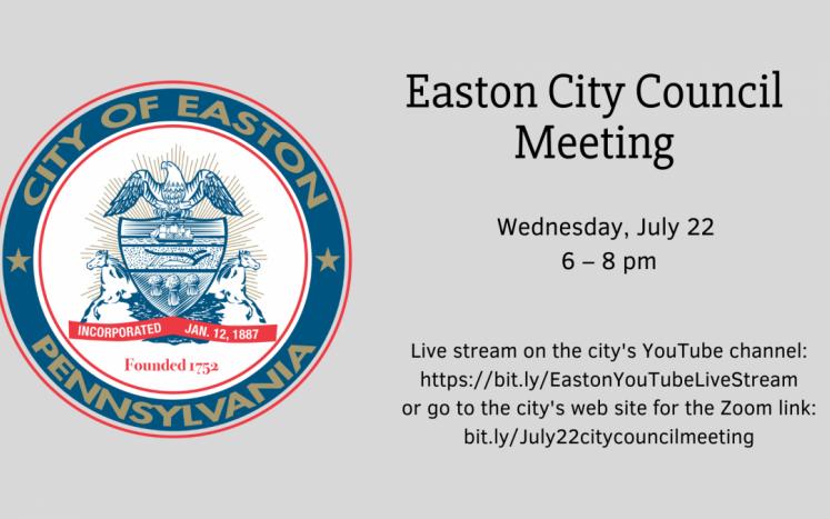 Easton City Council Meeting