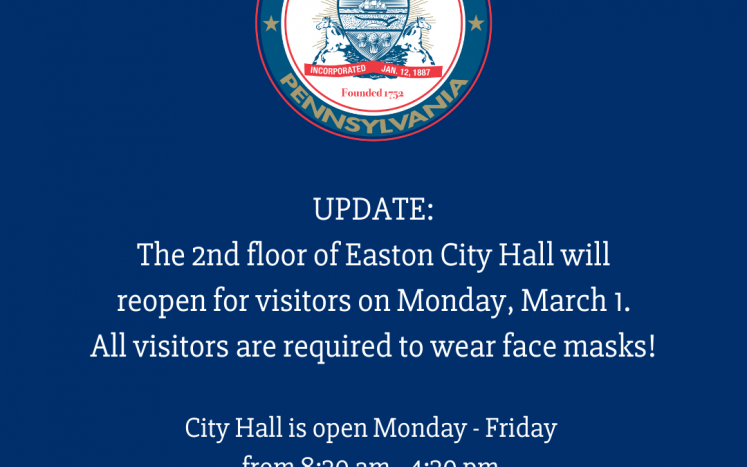 city hall reopens