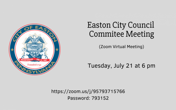 Easton City Council Committee Meeting