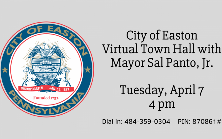 City of Easton Virtual Town Hall Meeting