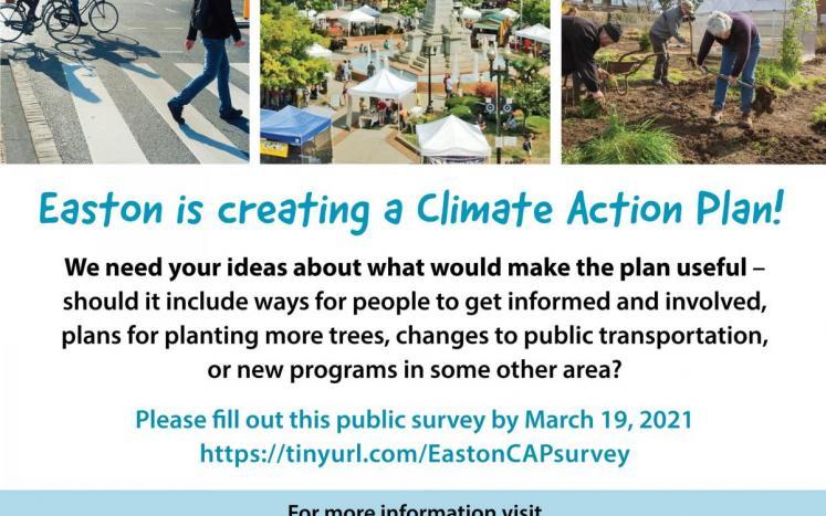 Easton climate action plan