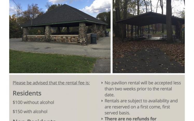 2021 Pavilion Rental
